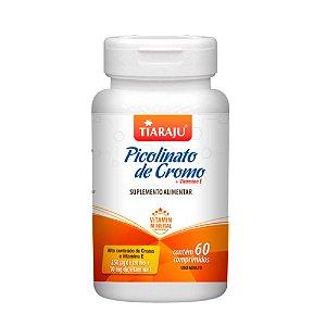 Picolinato de cromo + Vitamina E - 60 Cápsulas - Tiaraju