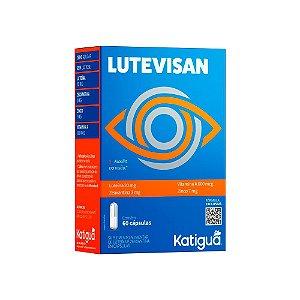 Lutevisan Luteína e Zeaxantina Katiguá Vitam A 60 Cápsulas