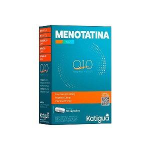 Menotatina Katiguá Suplemento Coenzima Q10 60 Cápsulas