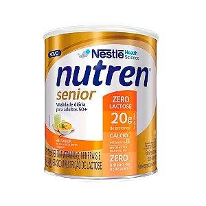 Nutren Senior Zero Lactose - 740 Gramas - Nestlé Sem Sabor