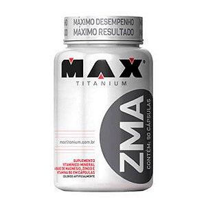 ZMA (magnésio, zinco e vitamina B6) – 90 cápsulas – Max Titanium