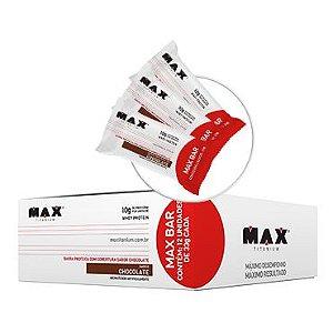 Max Barras - Caixa com 12 Unid de 33g - Max Titanium