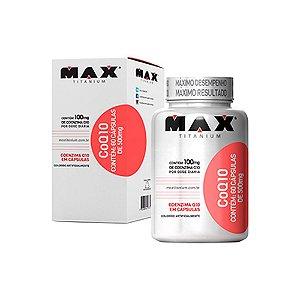 Coq 10 (Coenzima Q10) - 60 cápsulas - Max Titanium