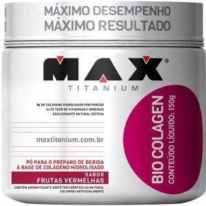 Bio Colagen - 150 gramas - Max Titanium val: 11/18