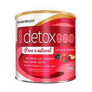 Detox Frutas Vermelhas - 250 gramas - Maxinutri