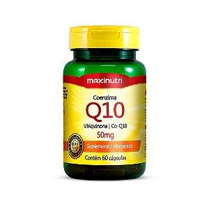 Coenzima Q10 50mg - 60 cápsulas - Maxinutri
