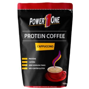 Coffee Protein Cappuccino - 100 gramas - Power1One
