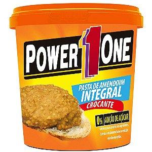 Pasta de Amendoim Crocante 0% Adição de Açúcar - 1 Kg - Power1One val: 06/18