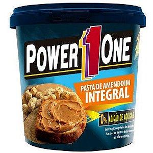 Pasta de Amendoim Integral 0% Adição de Açúcar - 1 Kg - Power1One