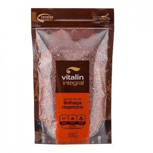 Semente de Linhaça Marrom - 200 gramas - Vitalin