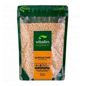 Quinoa Real em Flocos - 200 gramas - Vitalin
