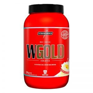 Whey Protein WGold Isolado - 907 gramas - Integralmedica Val 04/2018