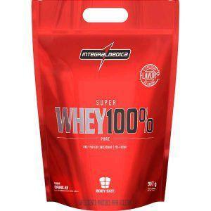Super Whey 100% Pure - 907 gramas - Integralmedica val: 05/18