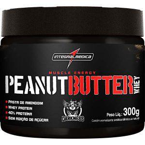 Pasta de Amendoim Proteica - 300gr  Integralmedica val: 05/18
