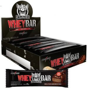 Whey Barra Darkness - 8 Unidades de 90 gramas - Integralmedica val: 06/18