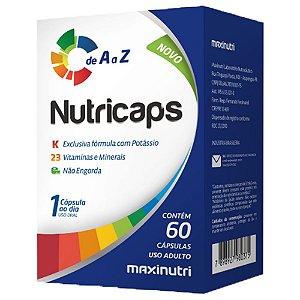 Nutricaps A a Z - 60 cápsulas - Maxinutri