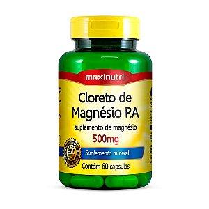 Cloreto de Magnésio P.A. - 60 cápsulas - Maxinutri