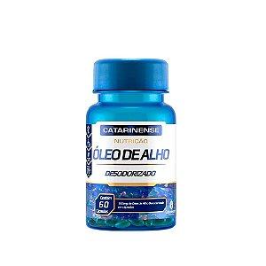 Óleo de Alho Desodorizado - 60 cápsulas - Catarinense