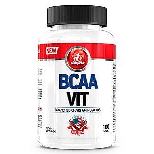 BCAA Vit USA - 100 cápsulas - Midway
