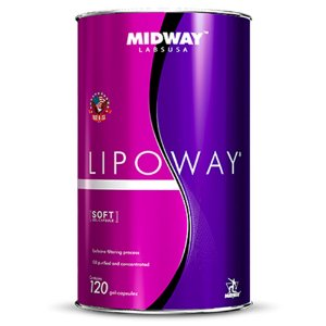 Lipoway Glamour Nutrition - 120 cápsulas - Midway