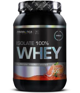 Isolate 100% Whey - 900 gramas - Probiotica