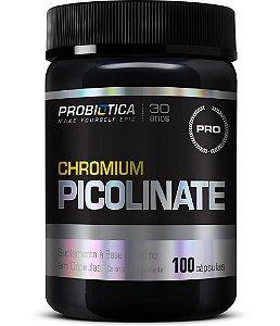 Picolinato de Cromo - 100 cápsulas - Probiotica