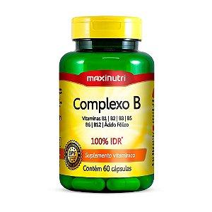 Complexo B - 60 cápsulas - Maxinutri