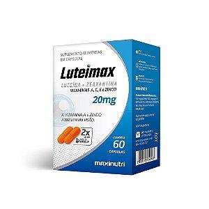 Luteimax Luteína & Zeaxantina - 60 cápsulas - Maxinutri
