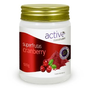 Super Frutas Active Cranberry - 120 gramas - Maxinutri