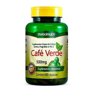 Café Verde - 60 cápsulas - Maxinutri