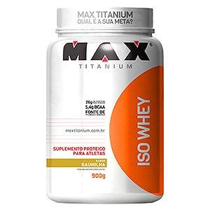 Iso Whey - 900 gramas - Max Titanium