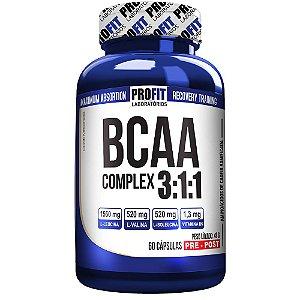 BCAA 3:1:1 Complex - 60 cápsulas - Profit