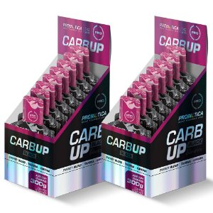 Carb Up Gel Black - 2x 10 sachês de 30 gramas - Probiotica