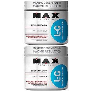 L-G Glutamina - 150 gramas - Max Titanium
