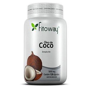 Óleo de Coco - 120 cápsulas - Fitoway