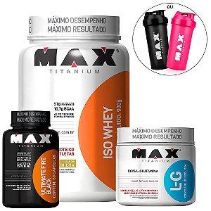 Combo Definição Muscular - Max Titanium