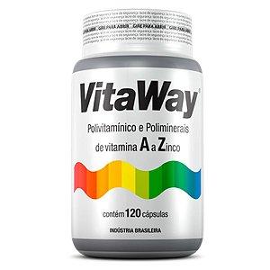 Vitaway A Z - 120 cápsulas - Fitoway