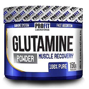 Glutamine Powder - 150 gramas - Profit
