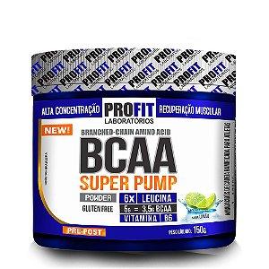 BCAA Super Pump 6.1.1 Powder - 150 gramas - Profit - Limão