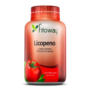 Licopeno (+ Selênio, Vitamina C e Vitamina E) - 60 cápsulas - Fitoway