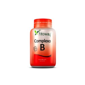 Complexo B - 60 cápsulas - Fitoway