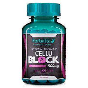 Cellublock 500mg - 60 cápsulas - Fortvitta