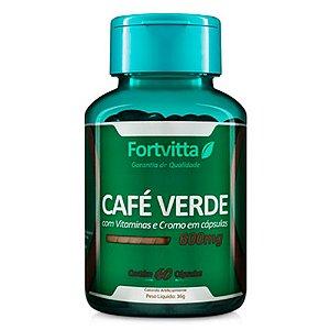 Café Verde - 60 cápsulas - Fortvitta