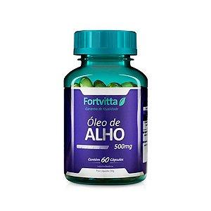 Óleo de Alho - 60 Cápsulas - Fortvitta