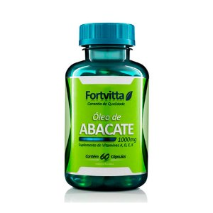 Óleo de Abacate - 60 Cápsulas - Fortvitta