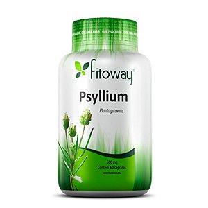 Psyllium 500mg - 60 cápsulas - Fitoway