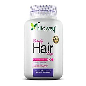 Beauty Hair Caps - 60 cápsulas - Fitoway