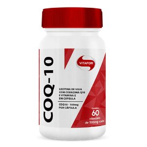 Coq 10 (coenzima Q10) - 60 cápsulas - Vitafor
