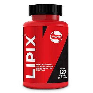 Lipix (Óleo de cártamo, Vitamina E) - 120 cápsulas - Vitafor