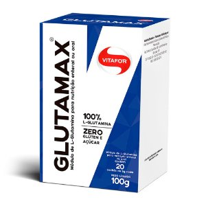 Glutamax (glutamina) - 20 Sachês de 5 Gramas - 100g - Vitafor